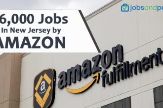 16,000 jobs in New Jersey by Amazon