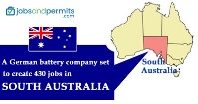 A German battery company set to create 430 jobs in South Australia