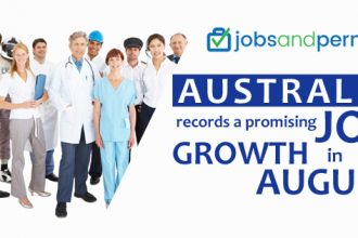 Australia records a promising job growth in August