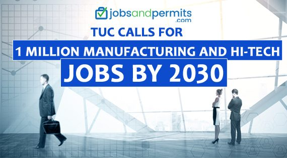 Manufacturing Jobs, Hitech Jobs, 1Million New Jobs - JobsandPermits
