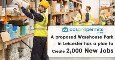 A proposed Warehouse Park in Leicester has a plan to Create 2,000 new jobs