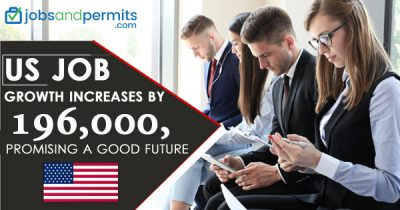 US Job growth increases by 196,000, promising a good future - JobsandPermits
